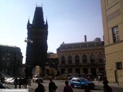 Прага. Пороховые ворота, XV века