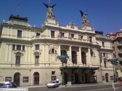 Прага. Театр Винограды