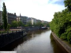 Прага. Искусственный приток Влтавы