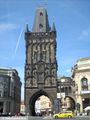Прага. Пороховая Башня XV века