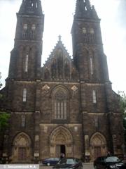 Прага. Башни крепости Вышеград