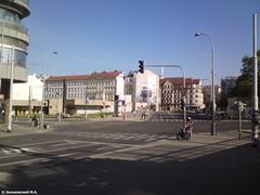Прага. Пешеходы тоже соблюдают ПДД
