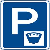 Место платной парковки