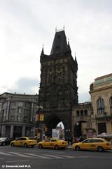 Прага. Пороховая башня, соединенная с Публичным домом