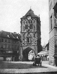 Прага. Пороховая башня 1856 год