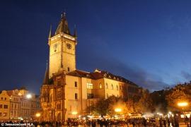 Прага. Староместская площадь и Староместская ратуша