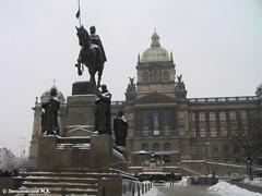 Прага. Памятник Святому Вацлаву