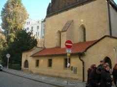 Прага. Старо-новая синагога 1270 года