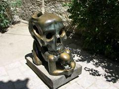 Прага. Памятник писателю Францу Кафке