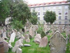 Прага. Старое еврейское кладбище