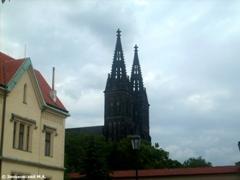 Прага. Церковь Святых Петра и Павла в Вышеграде