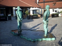 Прага. Писающие мужики