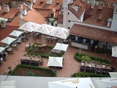 Прага. Кафе в Градчанах