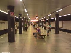 Прага. Линия метро «C»: Станция метро I.P. Pavlova