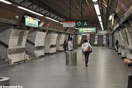 Прага. Линия метро «А»: Станция метро Museum